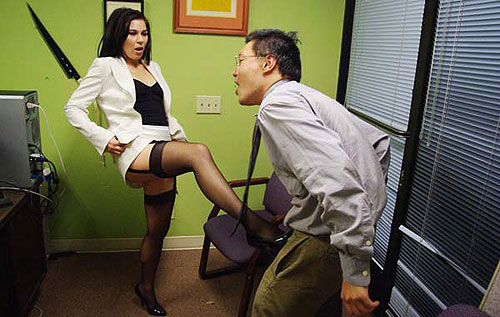 Ballbusting Secretary