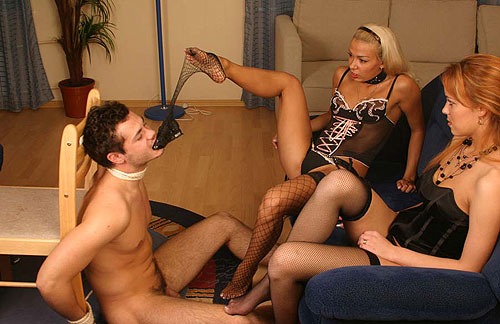 Fishnet Stockings Mistresses