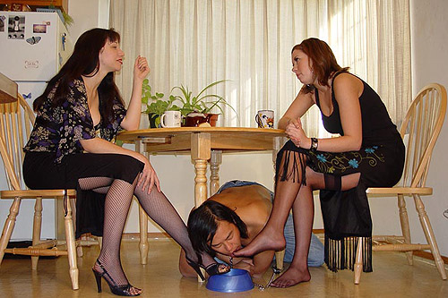 Stockings Slave