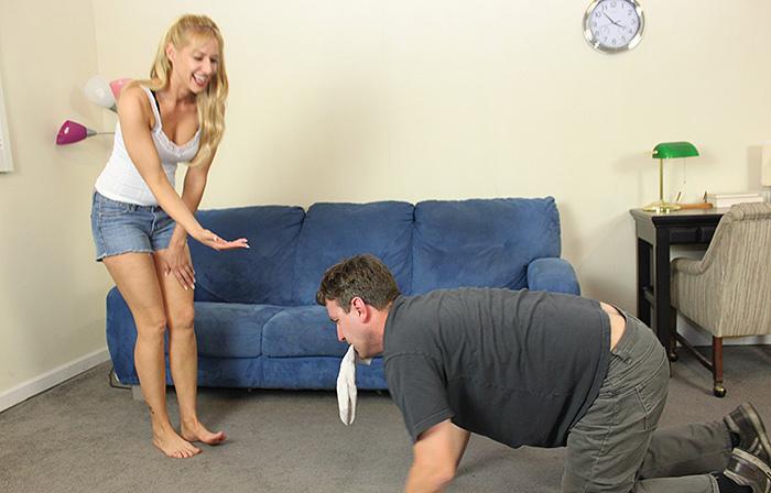 Foot Slave Training