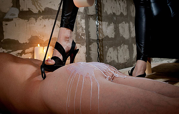 Hot Wax and Footdom Torture