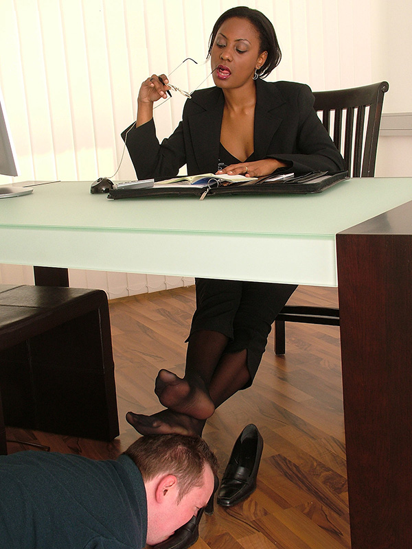 Office Shoes Sniffing